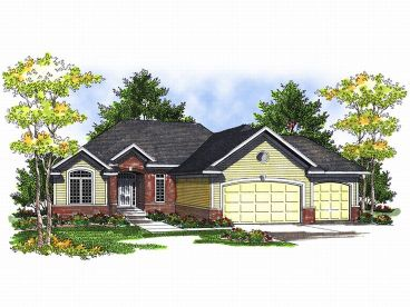 Traditional House Plan, 020H-0114