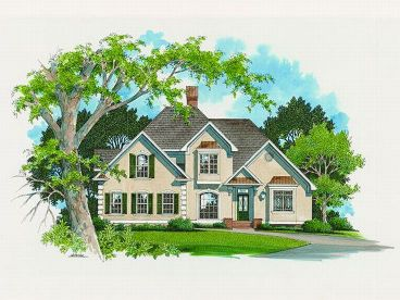 Sunblet Home Plan, 030H-0062
