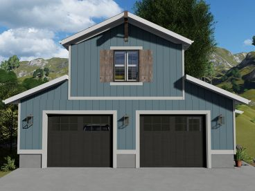 Garage Apartment Plan, 065G-0017