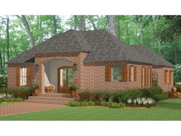 European Home Plan, 042H-0013