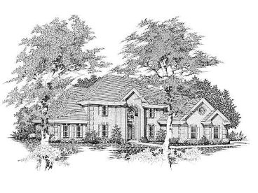 Luxury House Design, 061H-0120
