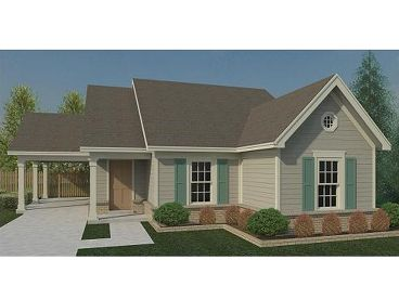 1-Story House Plan, 006H-0145