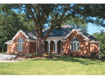 Ranch Home Plan, 031H-0025