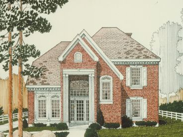 Two-Story House, 054H-0075