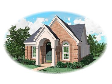 Narrow Lot Home Designn, 006H-0009
