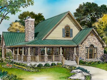 Country House Plan, 008H-0041
