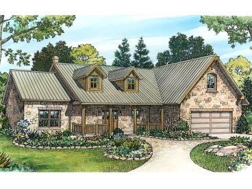 Country Home Plan, 008H-0043