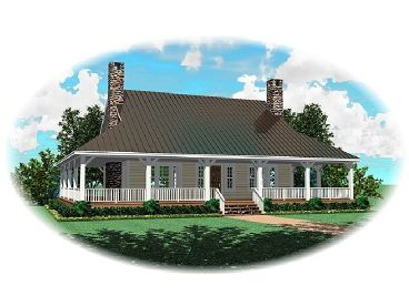 Country House Plan, 006H-0052
