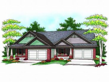 Multi-Family House Plan, 020M-0052