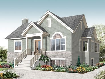 Traditional House Plan, 027H-0313