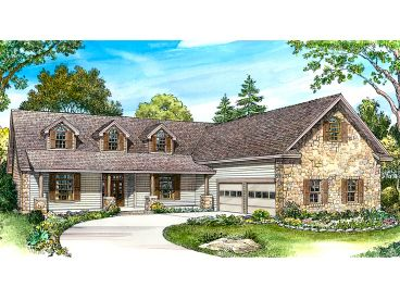 One-Story House Plan, 008H-0037