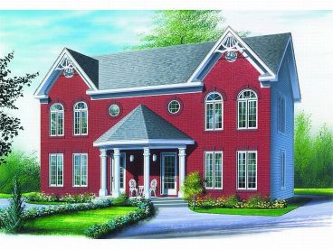 Multi-Family Home Plan, 027M-0009