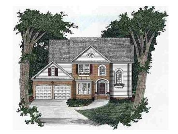 2-Story House Plan, 045H-0022