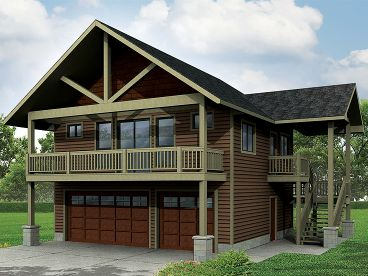 Carriage House Plan, 051G-0077