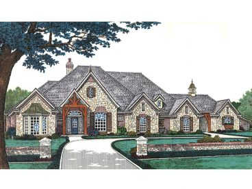 Luxury Home Plan, 002H-0097