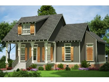 Small House Plan, 021H-0224