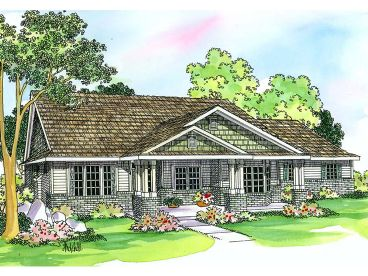 1-Story House Plan, 050H-0080