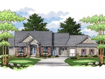 Craftsman European Home, 023H-0112