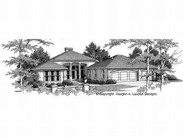 Ranch House Plan, 004H-0069