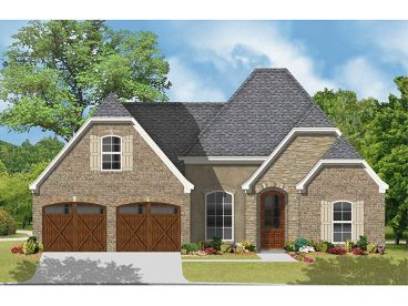 European House Plan, 060H-0017