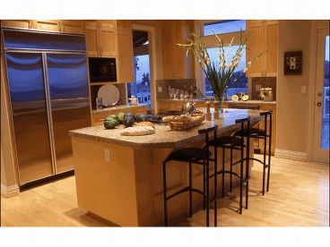 Kitchen Island Photo, 035H-0075