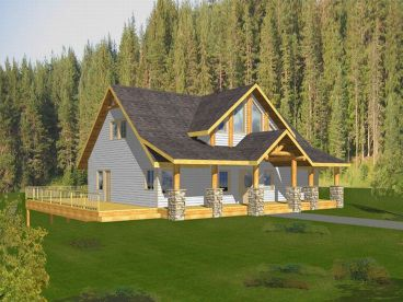 Two-Story Home Plan, 012H-0065