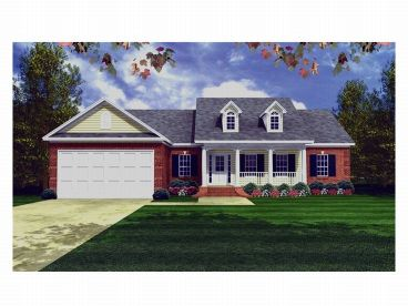 Country House Plan, 001H-0030