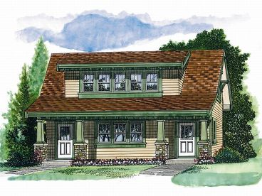 Carriage House Plan, 032G-0010