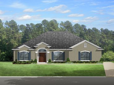 Floridian Home Plan, 064H-0080