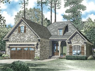 Ranch House Design, 025H-0261