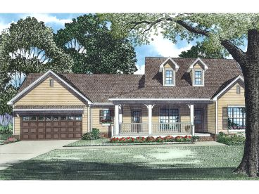 1-Story House Plan, 025H-0121