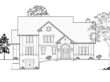 Two-Story House Plan, 055H-0006