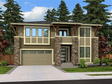 Two-Story House Plan, 035H-0121
