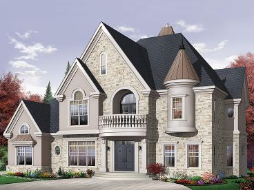 Luxury European Home, 027H-0284