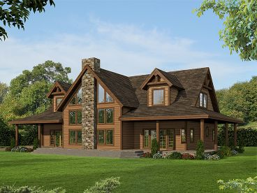 Two-Story House Plan, 012H-0261