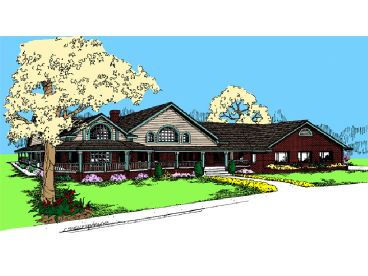 Country House Plan, 013H-0039