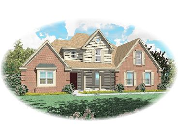 2-Story Home Plan, 006H-0064