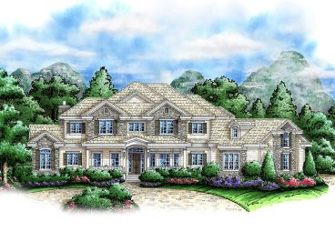 Two-Story Home Plan, 037H-0055
