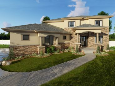 Sunbelt House Plan, 050H-0125