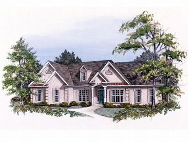 European House Plan, 019H-0111