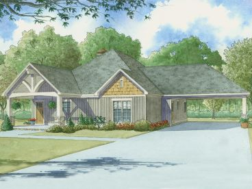 Empty-Nester House Plan, 074H-0003