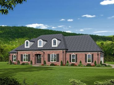 Premier Luxury House Plan, 062H-0117