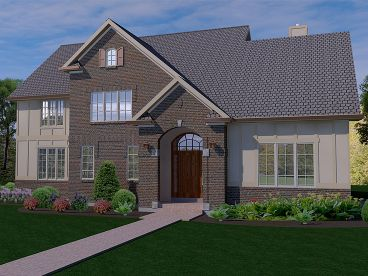 Two-Story Home Design, 055H-0018