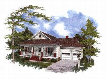 Ranch House Plan, 007H-0032