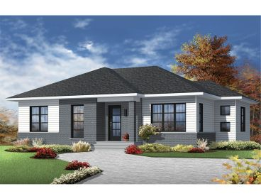 Contemporary house plans the house plan shop for Modern house plans and designs in kenya