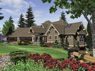 Mountain House Plan, 034H-0089