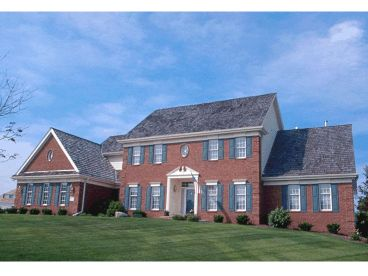 Colonial House Plan, 031H-0071