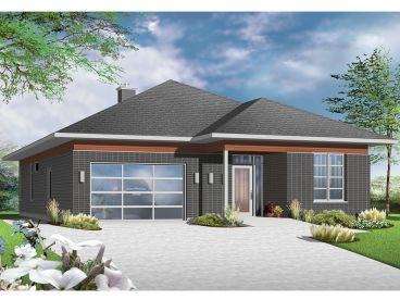 Empty-Nester Home Plan, 027H-0381
