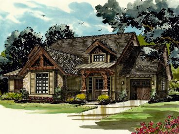 Mountain House Plan, 066H-0009