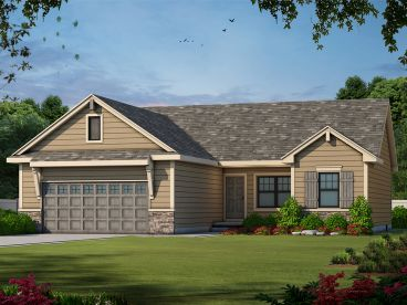 Traditional House Plan, 031H-0246